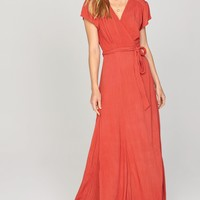 AMUSE SOCIETY - Beachscape Dress | Salsa Red