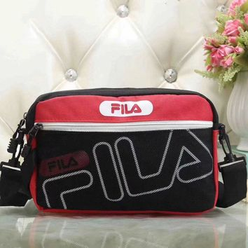 Fila Women Fashion Leather Satchel Bag Shoulder Bag Crossbody-7