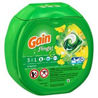 Gain Flings 42ct Original Laundry Detergent Pacs
