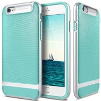 iPhone 6 Case, Caseology [Wavelength Series] Slim Ergonomic Ripple Design [Mint Green] [Modern Grip] for Apple iPhone 6 & iPhone 6S