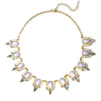 Purple Caroline Necklace