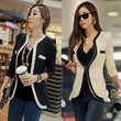 Ladies Womens White Black Colors Slim Suit Coat Blazer Jacket Button Fashion New