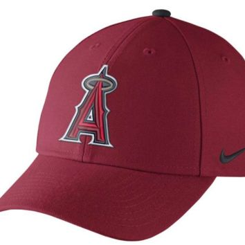 Los Angeles Angels of Anaheim Nike Red Wool Classic Adjustable Dri-FIT Hat NIKE