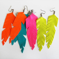 Duct Tape Feather Earrings Kit