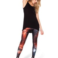 Galaxy Red Leggings
