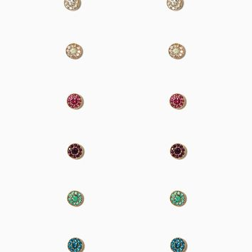 Ring Around the Rhinestone Stud Set | Earrings - Fashion Jewelry | charming charlie