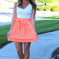 Pop of Polka Dot Dress