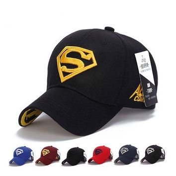 Quality Awesome Cap Superman Snapback Hat, Cheap Baseball Steampunk Movie Crochet Caps Snapbacks Superman Hats, Basketball Hats for Men Women Cap B5t