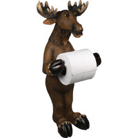 Rivers Edge Products 805 Moose Standing Toilet Paper Holder