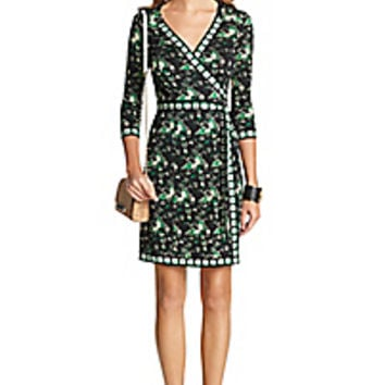DVF Tallulah Two Silk Jersey Wrap Dress