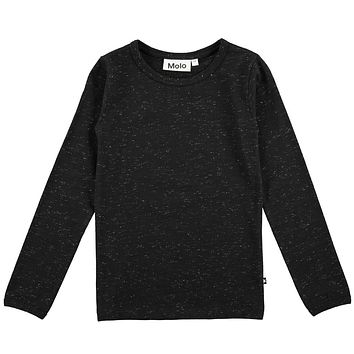 Molo Girls' Black RAMONA Top