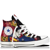 Converse - Chuck Taylor DC Comics- Superman - Hi - Black/Royal Blue