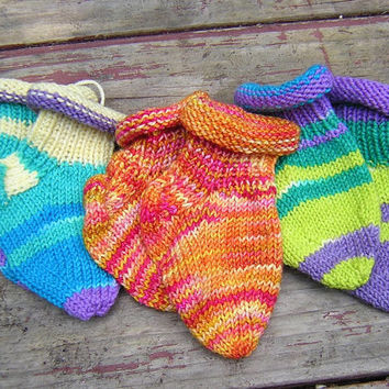 Rolled Top Merino Baby Sox!