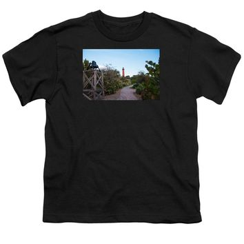 Path To Jupiter Lighthouse - Youth T-Shirt