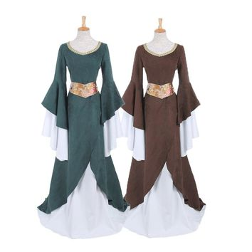 Women's  Medieval Renaissance Dress - Performance & Stage Wear