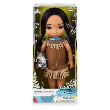 Disney 2019 Animators' Collection Pocahontas with Meeko Doll New with Box