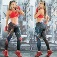 Custom Print Gym Leggings