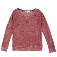 Rewind Juniors Studded Reversible Pullover Sweater | Bealls Florida