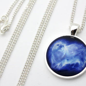 Harry Potter, Hermione Granger Otter Patronus Necklace