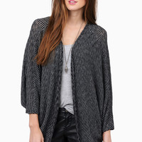 Earn Your Stripes Knit Cardigan