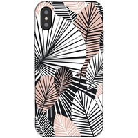 iPhone XS Max Case - Blush Palm