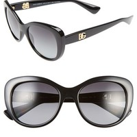 Women's Dolce&Gabbana 'Urban Essential' 54mm Polarized Sunglasses