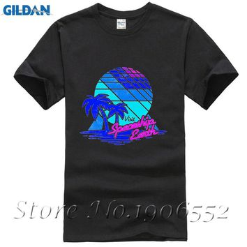 Visit Spaceship Earth Cool Design Men T Shirt Summer Short Sleeve T-shirt Brand Clothing Hipster Funny Tops Tee Plus Size S-6XL