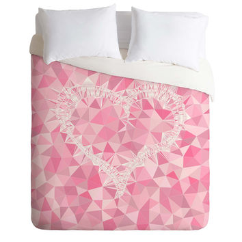 Lisa Argyropoulos Heart Electric Duvet Cover