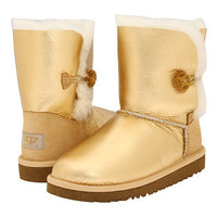 UGG Kids Bailey Button Metallic (Youth)