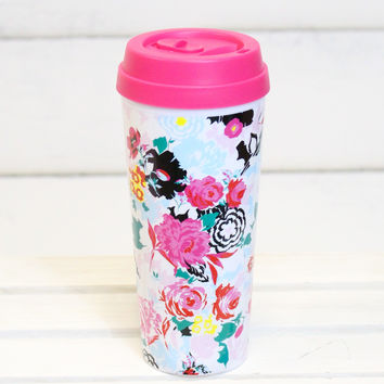 Hot Stuff Thermal Mug {Florabunda}