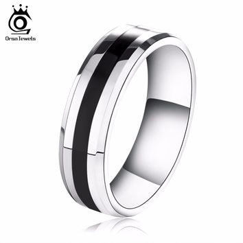 New Arrival Titanium Steel Couple Ring Fashion Design Ring for Men and Women Popular Jewelry Free Shipping OTR03