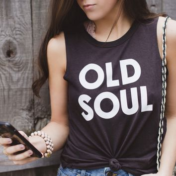 Old Soul Muscle Tee