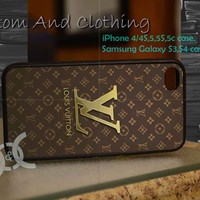 louis vuitton iPhone case, iPhone 4/4S, iPhone 5/5S, iPhone 5c, Galaxy S3 i9300, S4 i9500, Design By Custom And Clothing