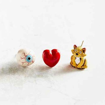 Venessa Arizaga I Love Cats Pin Set