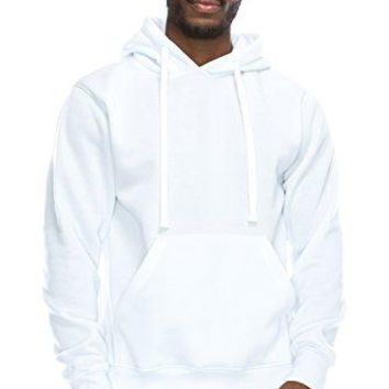 JC DISTRO Mens Hipster Hip Hop Basic Lightweight Pullover Hoodie Jacket (upto 6XL Plus)