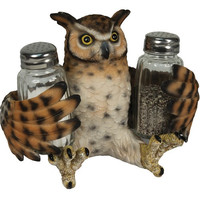 River's Edge Owl Salt and Pepper Shakers