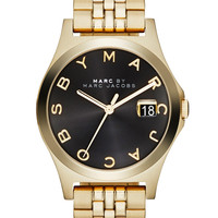 Marc by Marc Jacobs Watches Women's Slim Watch, 36mm - Gold