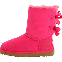 UGG Kids Bailey Bow (Little Kid/Big Kid) Cerise - Zappos.com Free Shipping BOTH Ways