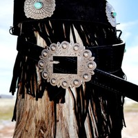 Firewater Fringe Belt by Crazy Train