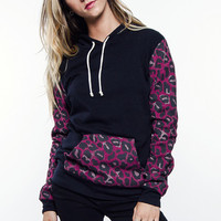 Glamour Kills - Cheetah Fleece Pullover