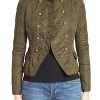 Burberry Boscastle Quilted Military Jacket | Nordstrom