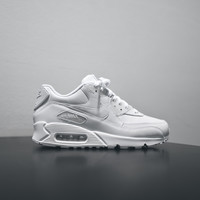 NIKE Air Max 90 LTHR - Triple White