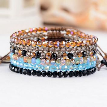 Fashion Cristal Bead Bracelet Vintage  Bracelets for women