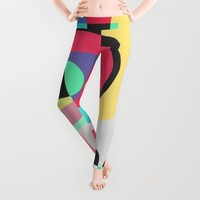 Naive VII Leggings by Susana Paz | Society6