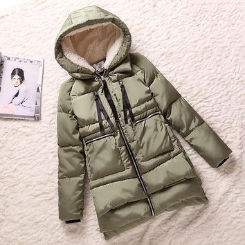 2017 Spring Autumn Winter Style Women jacket plus size 5XL pregnant woman long Military outfit thick Down Cotton Women Coat