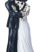 Wedding Couple Embracing Figurine