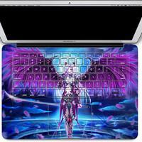 macbook decal keyboard decal mac pro decals keyboard decal cover skin keyboard decal laptop sticker Radio mac decals Apple Mac Decal