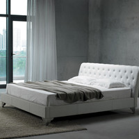 Modrest San Remo Full Size Leatherette Modern Bed