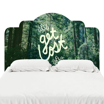 Get Lost Forest Headboard Decal