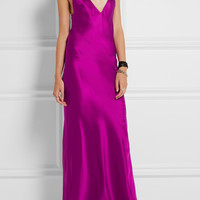 Haider Ackermann - Silk-satin maxi dress